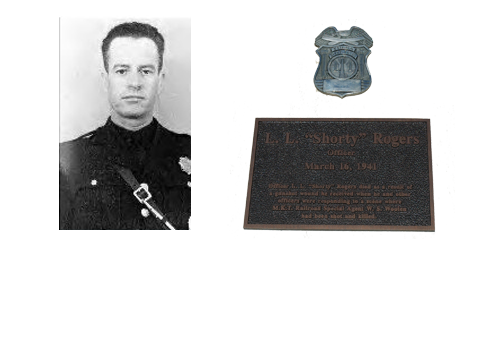 "Officer  Lawrence Leroy ""Shorty"" Rogers"